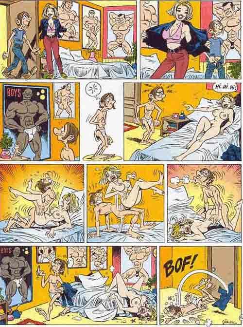 Аниме эро комиксы