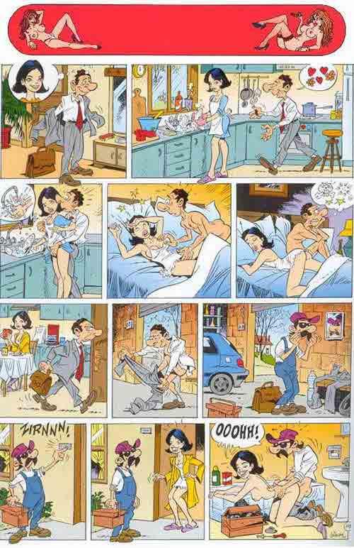 эротик комиксы